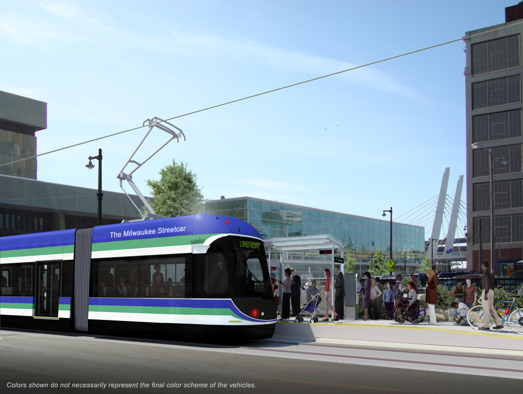 Streetcar rendering: 4th/St. Paul